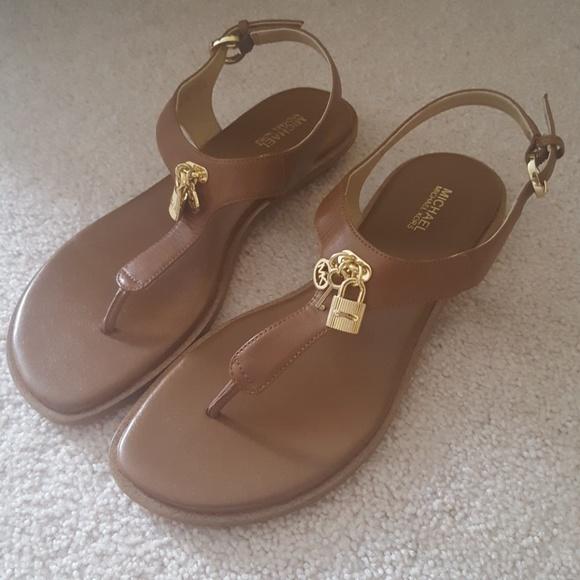 bc5b84675eda4 MICHAEL Michael Kors Shoes - Michael by Michael Kors Suki leather sandals 8